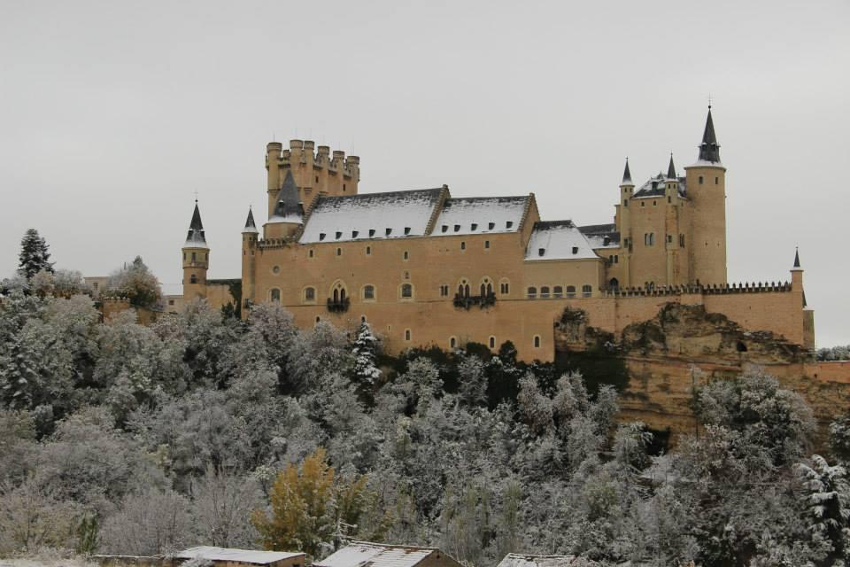 Segovia-alcazar nevado