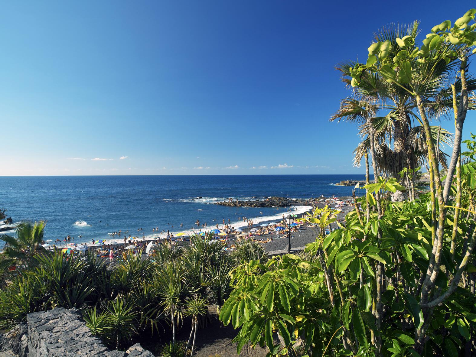 Tenerife _playa jardín