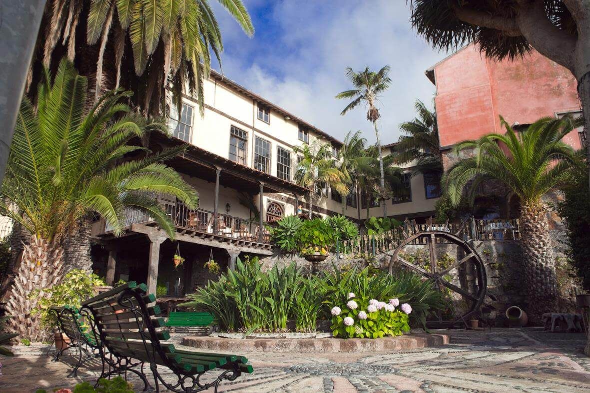 Tenerife _tipical canarian arquitecture